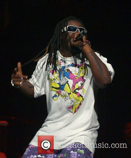 T-Pain Performing at the 2008 South Florida summer...