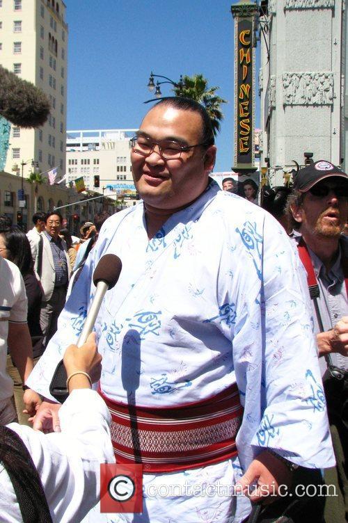 Takamisakari Seiken World famous wrestlers from the Grand...