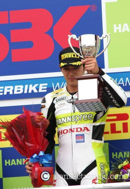 Winner of both races Ryuich Kiyonari World Superbikes...