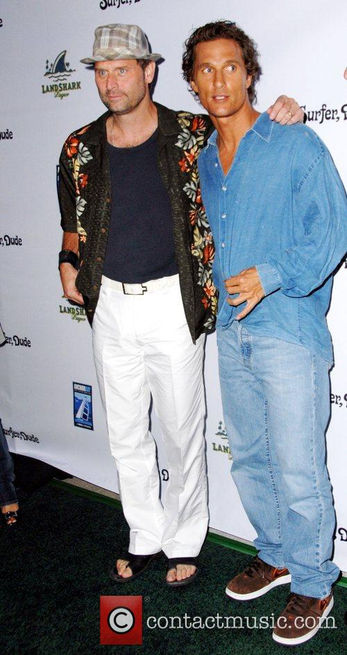 Jeffrey Nordling and Matthew McConaughey The world premiere...