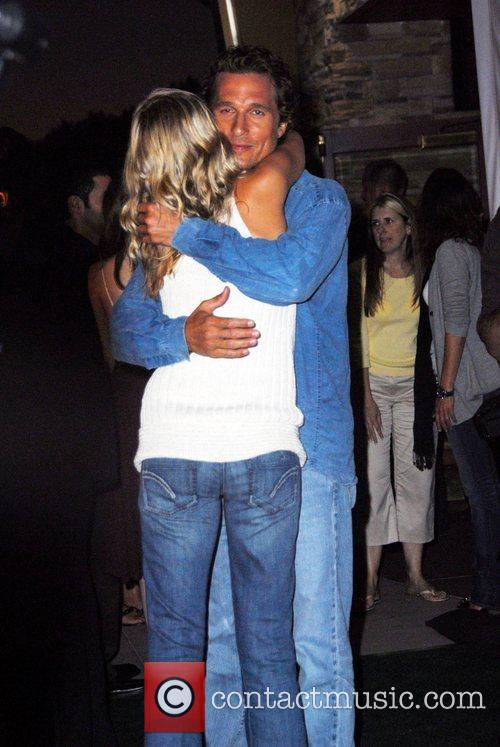Sarah Wright and Matthew McConaughey The world premiere...