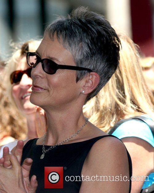 Jamie Lee Curtis at the ceremony where Susan...