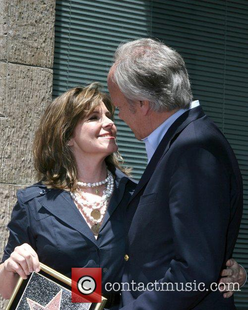 Susan Saint James and Dick Ebersol at the...