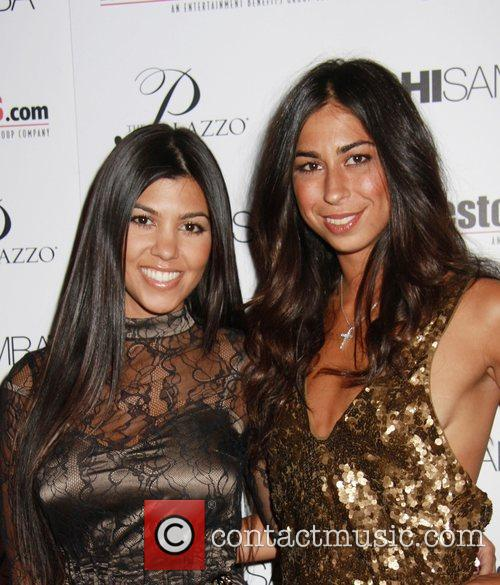Kourtney Kardashian, Courtenay Seme The Palazzo Hotel's Sushi...
