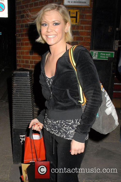 Suzanne Shaw leaving Cambridge theatre