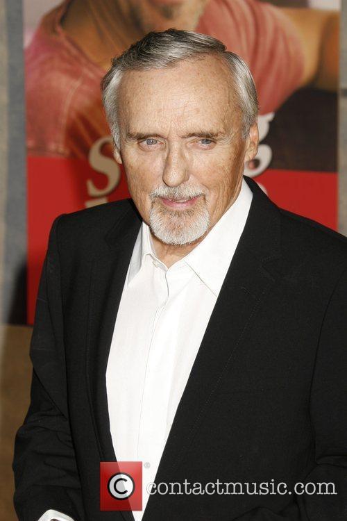 Dennis Hopper 'Swing Vote' Premiere held at El...