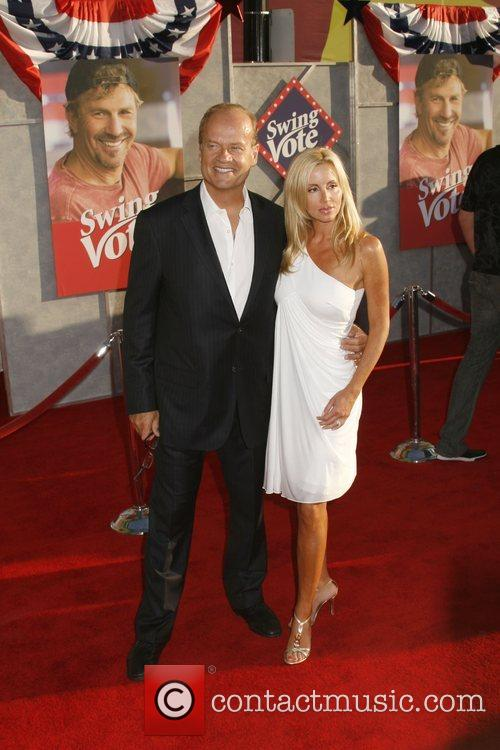 Kelsey Grammer with wife Camille Grammer 'Swing Vote'...