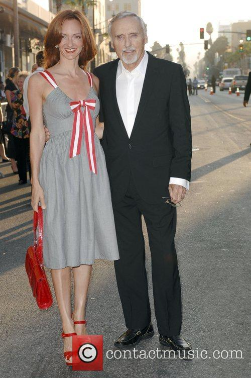 Dennis Hopper and Victoria Duffy World premiere of...
