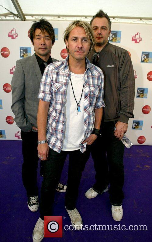 Taka Hirose, Grant Nicholas and Mark Richardson of...