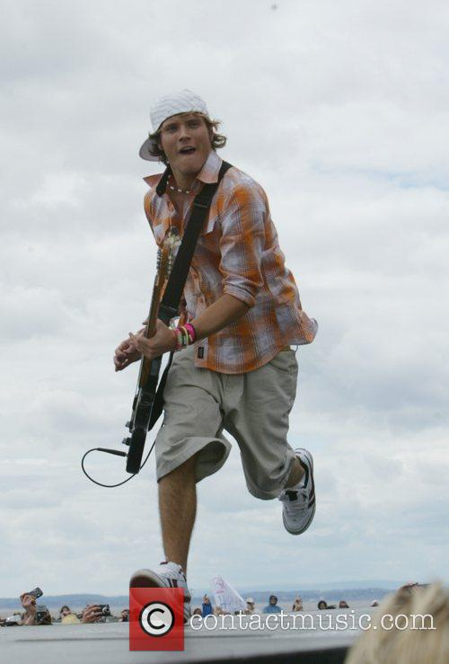 Dougie Poynter, T4 On The Beach