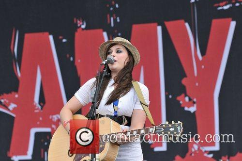 Amy MacDonald The T in the Park festival...
