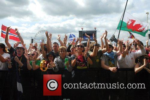 Atmosphere The T in the Park festival -...