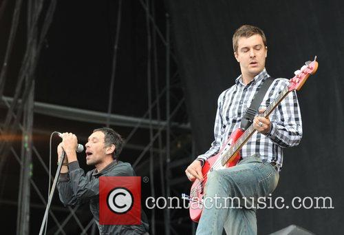 Rick Witter and Tom Gladwin of Shed Seven...