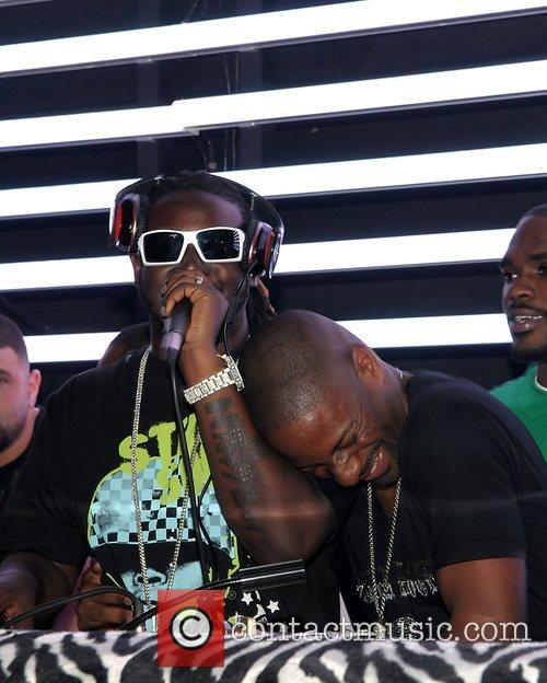 T-pain Vs DJ Irie party held at Parkwest...