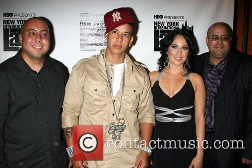 George Rivera, Daddy Yankee, Angelica Alcade and Edwin...