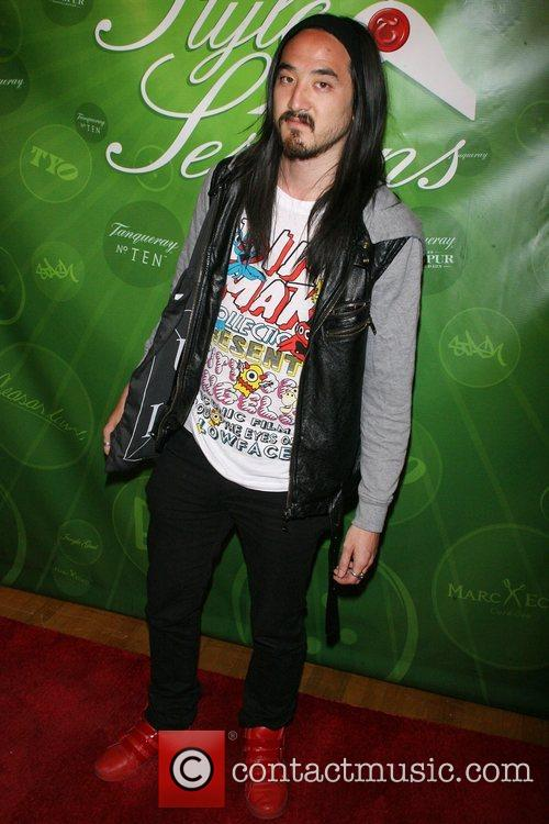 DJ Steve Aoki Tanqueray Style Sessions grand finale...