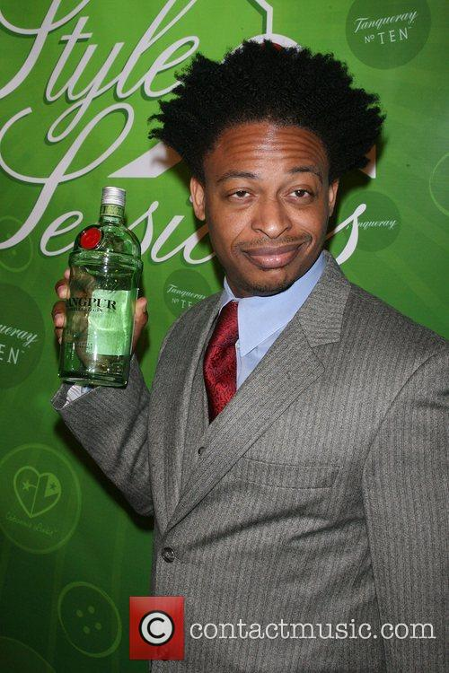 Tony Sinclair, Tanqueray Spokesman Tanqueray Style Sessions grand...
