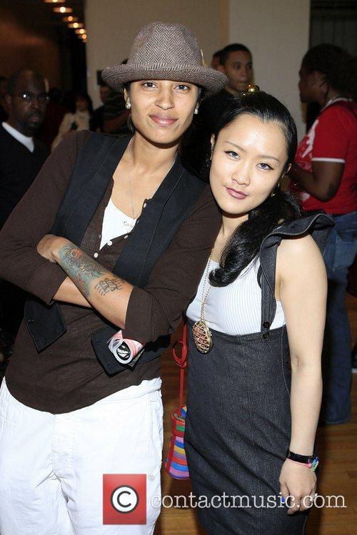 Kisha B and Nana N.Yoshida Tanqueray Style Sessions...