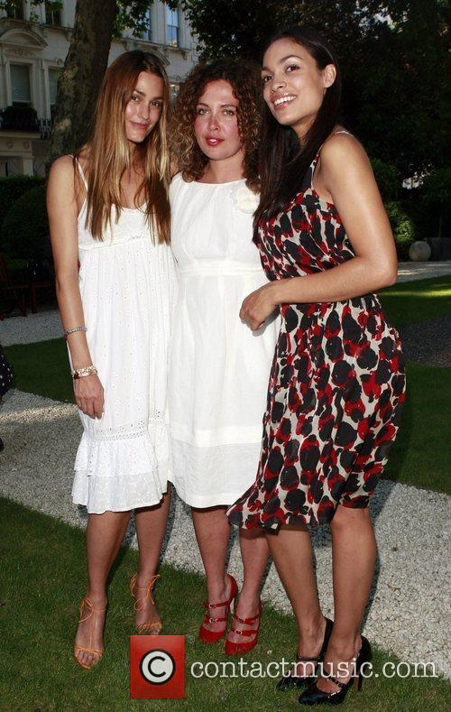Yasmin Le Bon, Tara Smith and Rosario Dawson 1