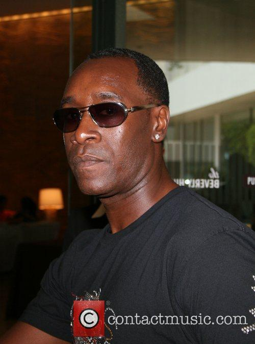 Don Cheadle, Beverly Hilton Hotel