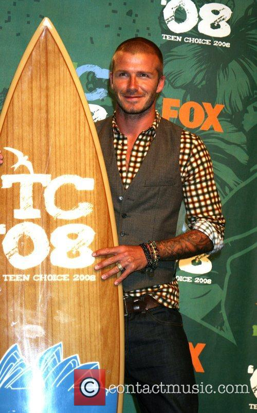 David Beckham and Teen Choice Awards 3