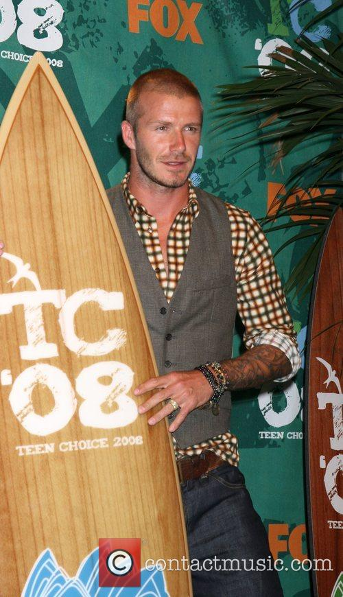 David Beckham and Teen Choice Awards 5