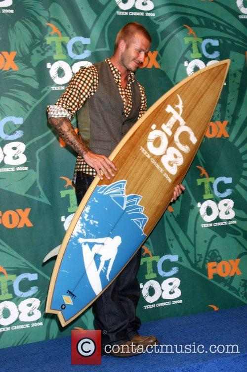 David Beckham and Teen Choice Awards 4