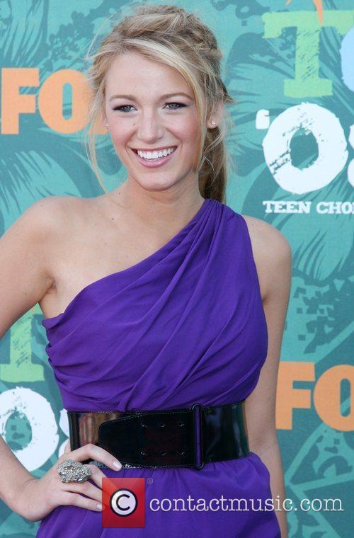 Blake Lively Teen Choice Awards 2008 at the...