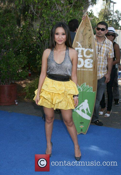 Brenda Song  Teen Choice Awards 2008 at...