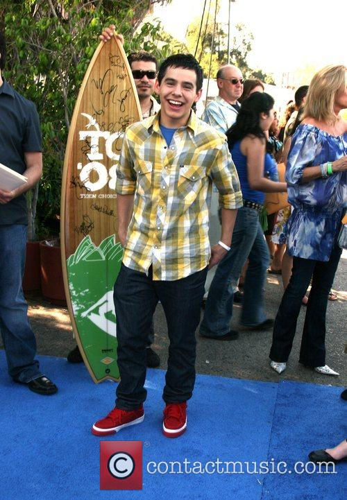 David Archuletta  Teen Choice Awards 2008 at...