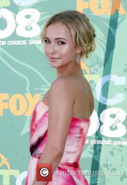 Hayden Panettiere  Teen Choice Awards 2008 at...