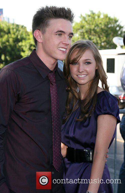 Jesse McCartney and sister  Teen Choice Awards...