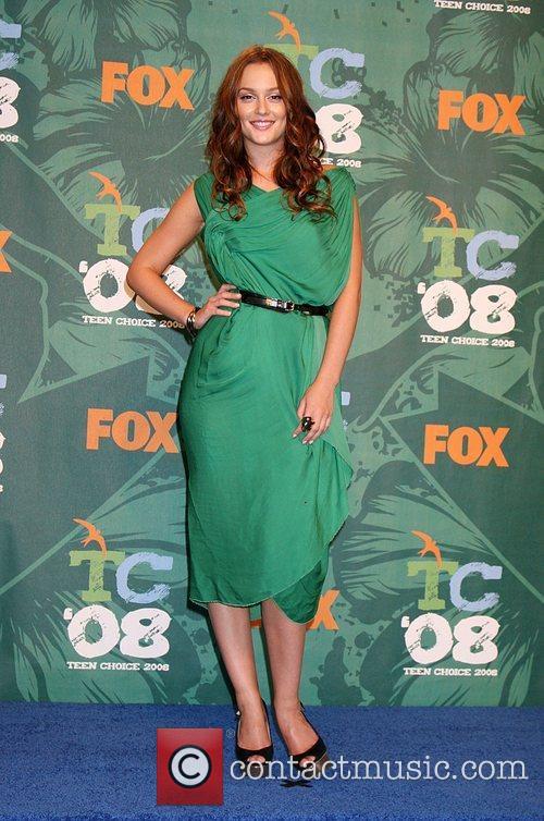 Leighton Meester Teen Choice Awards 2008 at the...