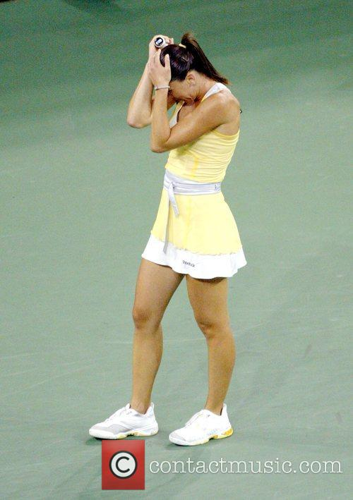 Jelena Jankovic during the Women's final  2008...