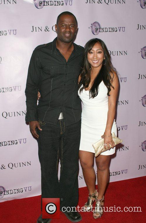 Brian McKnight and AnnaLisa Hollywood event producers Jin&Quinn...