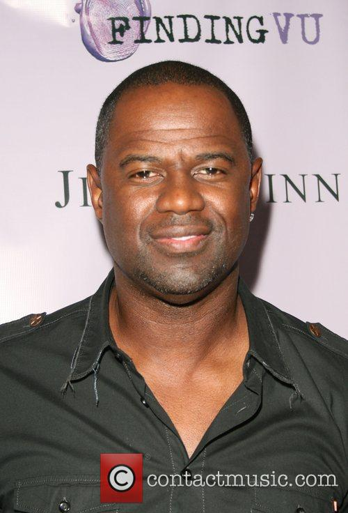 Brian McKnight  Hollywood event producers Jin&Quinn team...