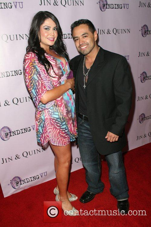 Crystal Perez and and Julian Ramirez Hollywood event...