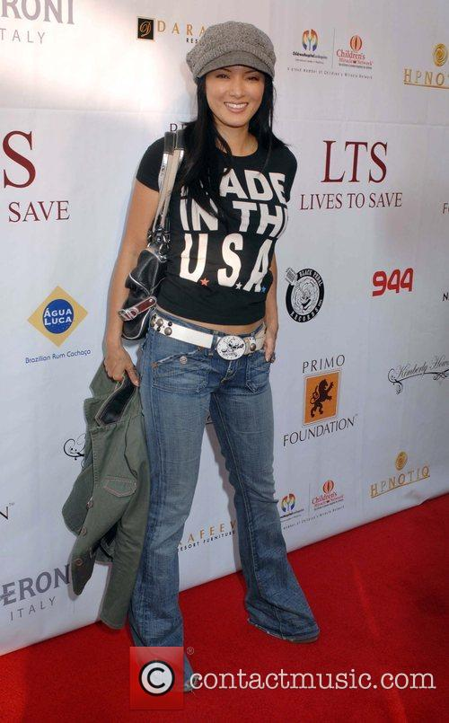 Kelly Hu 3rd annual celebrity Texas Hold'Em tournament...