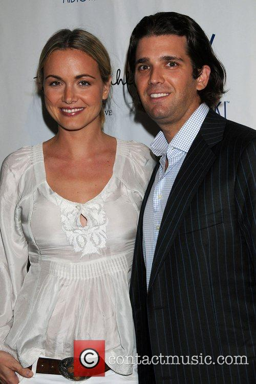 Donald Trump Jr. and wife Vanessa Launch party...