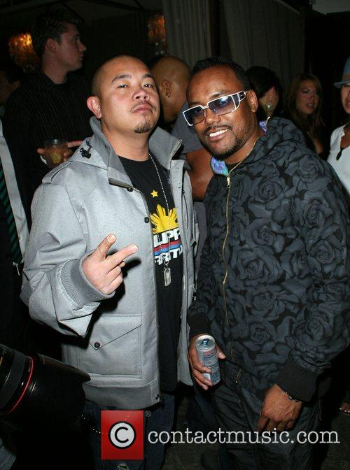 Guest and apl.de.ap of the Black Eyed Peas...