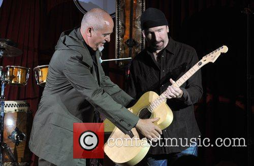 The Edge and Peter Gabriel 4
