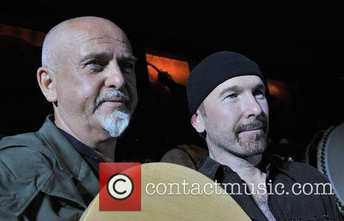 The Edge and Peter Gabriel 3