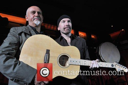 The Edge and Peter Gabriel 5