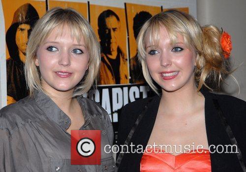Samantha & Amanda Marchant Premiere of 'The Escapist'...
