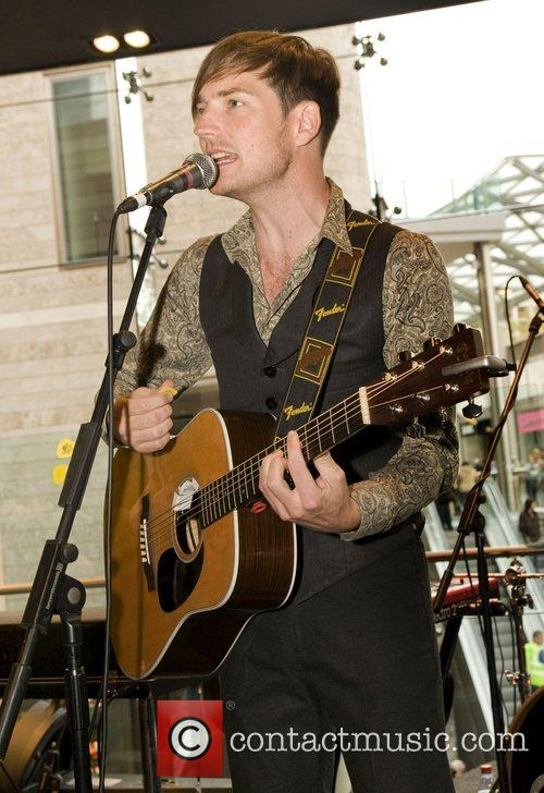 Perform at the opening of the new HMV...