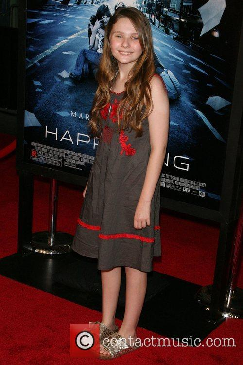 Abigail Breslin Premiere of 'The Happening' at the...