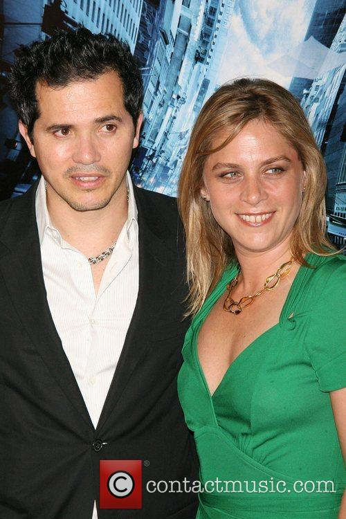 John Leguizamo and Justine Maurer Premiere of 'The...