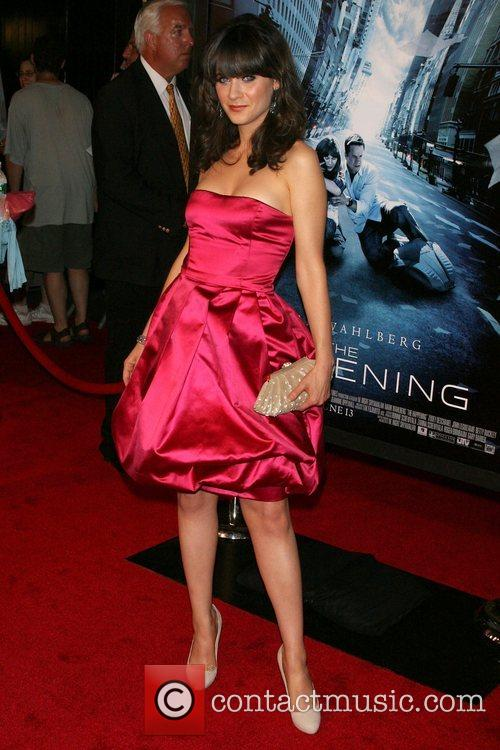 Zooey Deschanel Premiere of 'The Happening' at the...