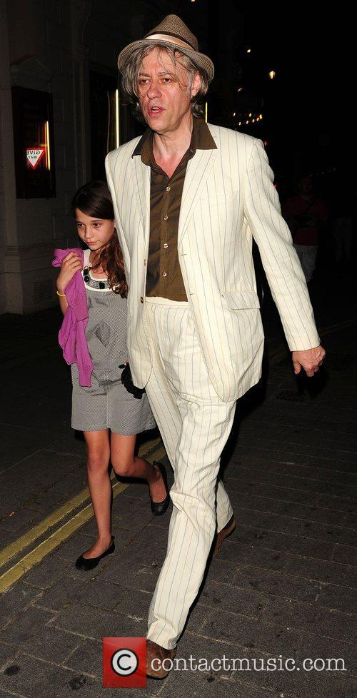 Bob Geldof and Tiger Lily 'The Harder They...