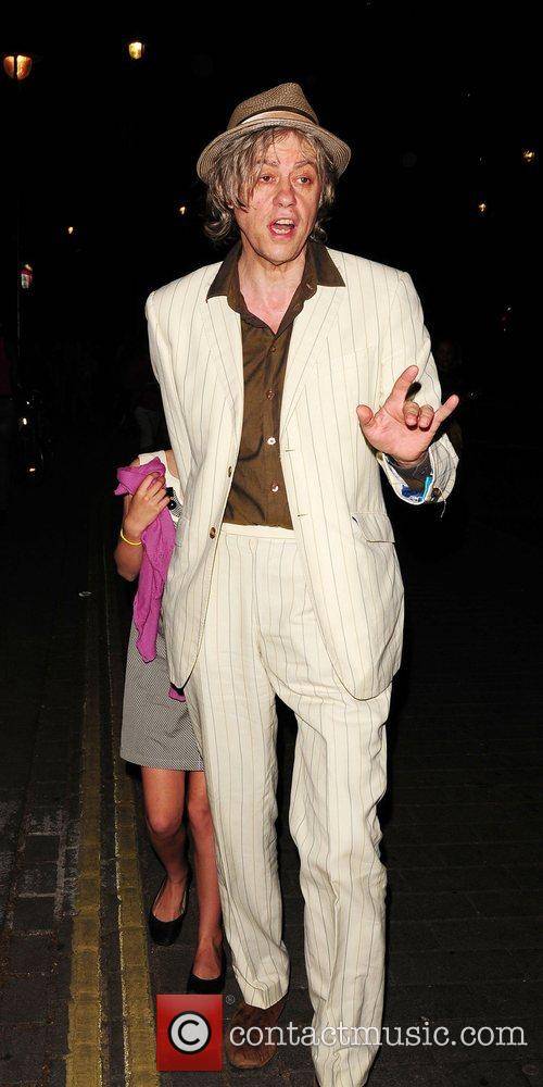 Bob Geldof and Tiger Lily 9